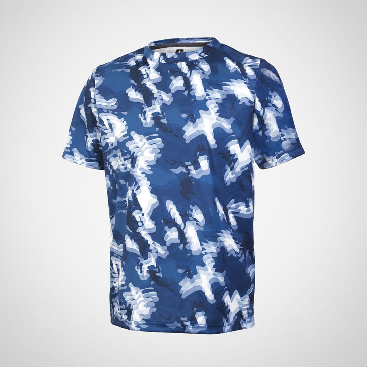 Youth Dri-Power® Camokaze Performance Tee NAVY CAMO-KAZE