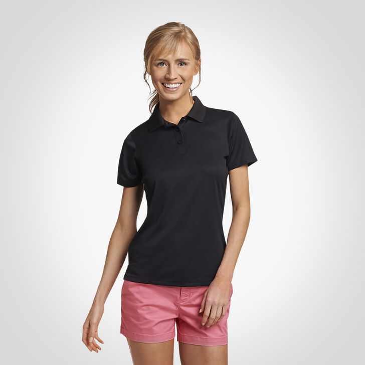 Women's Dri-Power® Performance Golf Polo BLACK