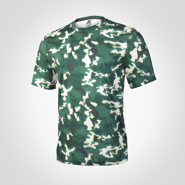 Men's Dri-Power® Camokaze Performance Tee DARK GREEN CAMO-KAZE