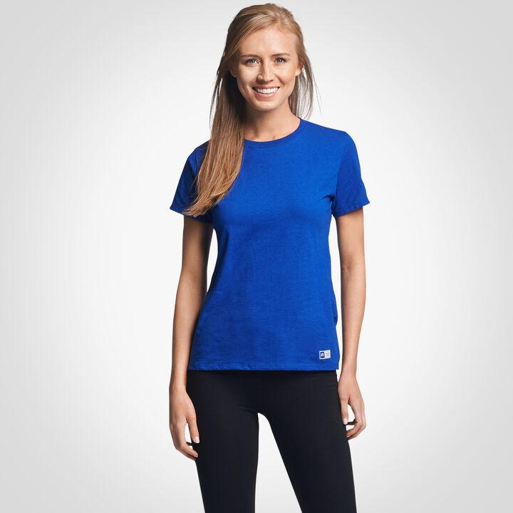 Women's Cotton Performance T-Shirt ROYAL