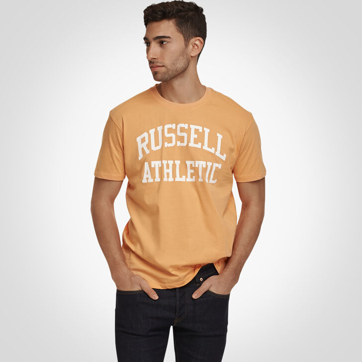 Russell Athletic Iconic Arch T-Shirt CANTALOUPE