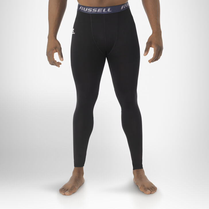 Men's Dri-Power® Compression Tights BLACK