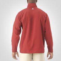 Men's Woven 1/4 Zip Pullover CARDINAL