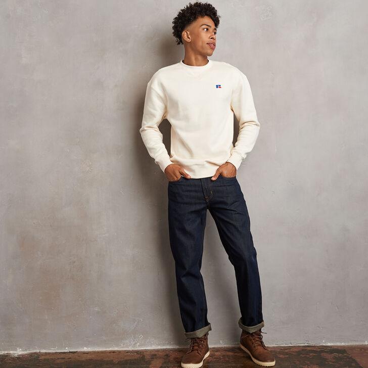 Men's Heritage Fleece Crew Sweatshirt SOYA