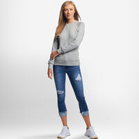 Women's Fleece Crew Sweatshirt OXFORD
