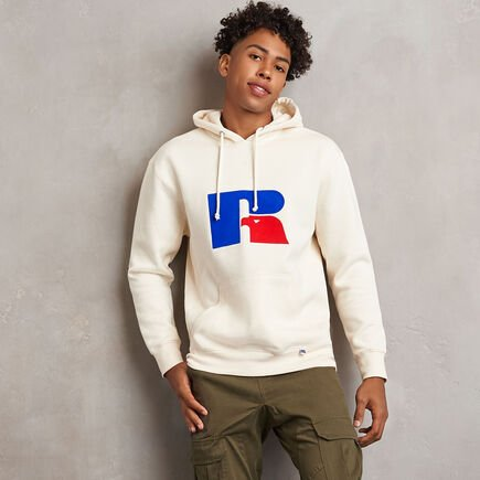 Men's Heritage Flock Graphic Hoodie SOYA