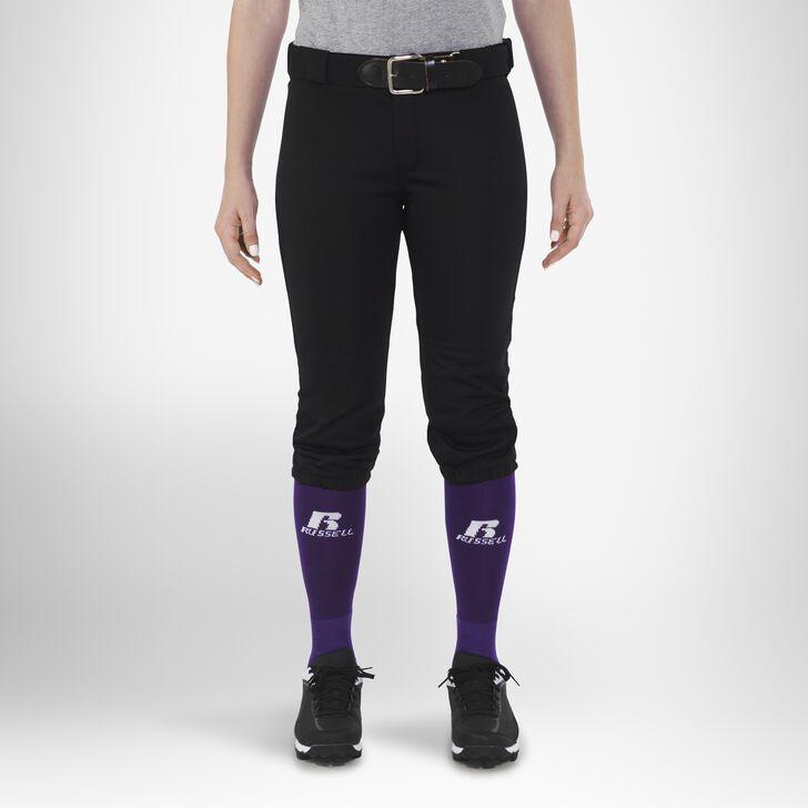 Women's Knicker Softball Pants BLACK