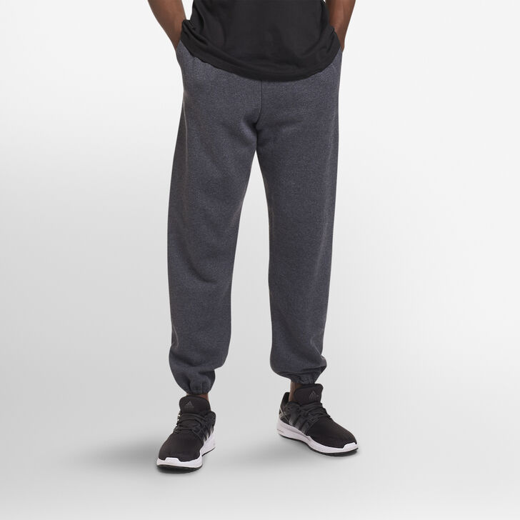 Men's Dri-Power® Closed-Bottom Sweatpants with Pockets BLACK HEATHER