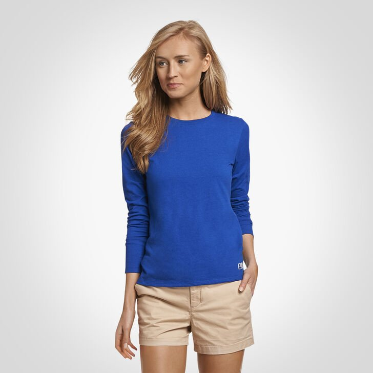 Women's Essential Long Sleeve Tee ROYAL