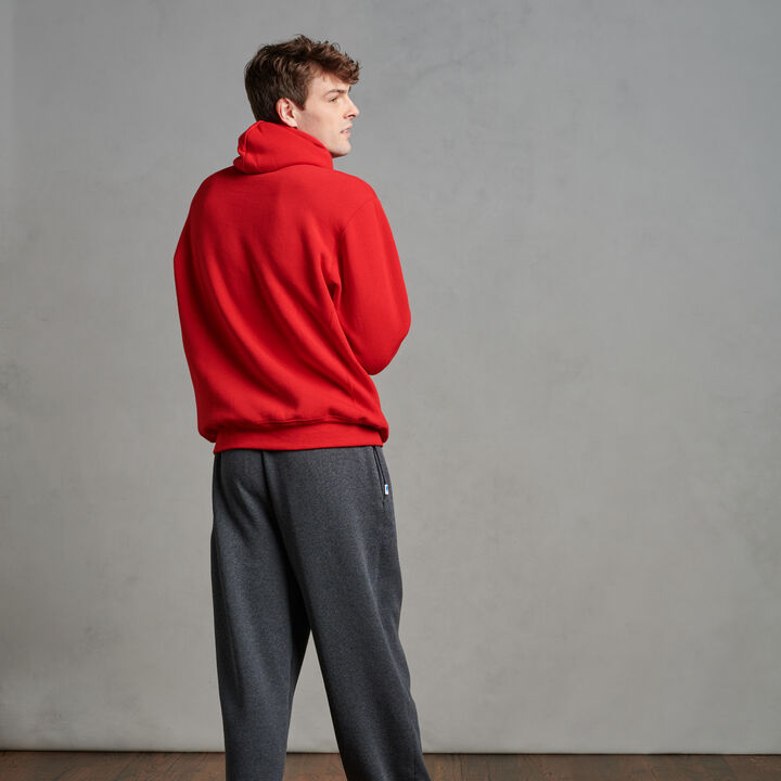 Men's Dri-Power® Fleece Hoodie TRUE RED