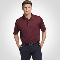 Men's Dri-Power® Performance Golf Polo MAROON