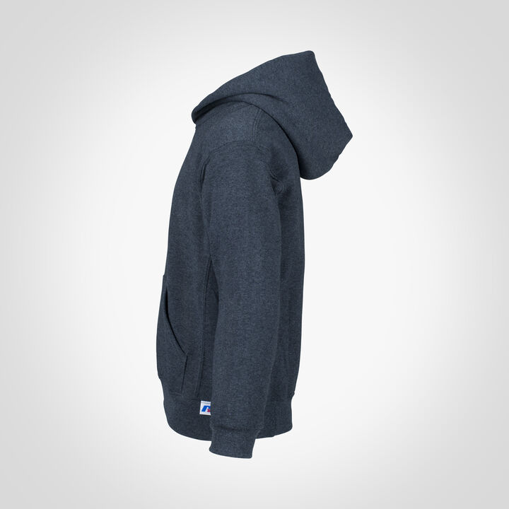 Youth Dri-Power® Fleece Hoodie BLACK HEATHER
