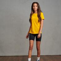 Women's Cotton Performance T-Shirt Gold