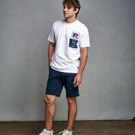 Men's Heritage Garment Label Graphic T-Shirt WHITE