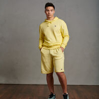 Men's Garment Dyed French Terry Shorts Spring Yellow