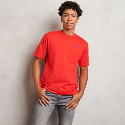 Men's Heritage Baseliner T-Shirt TRUE RED