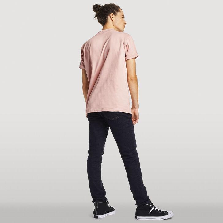 Men's Heritage Heavyweight Baseliner T-Shirt PINK