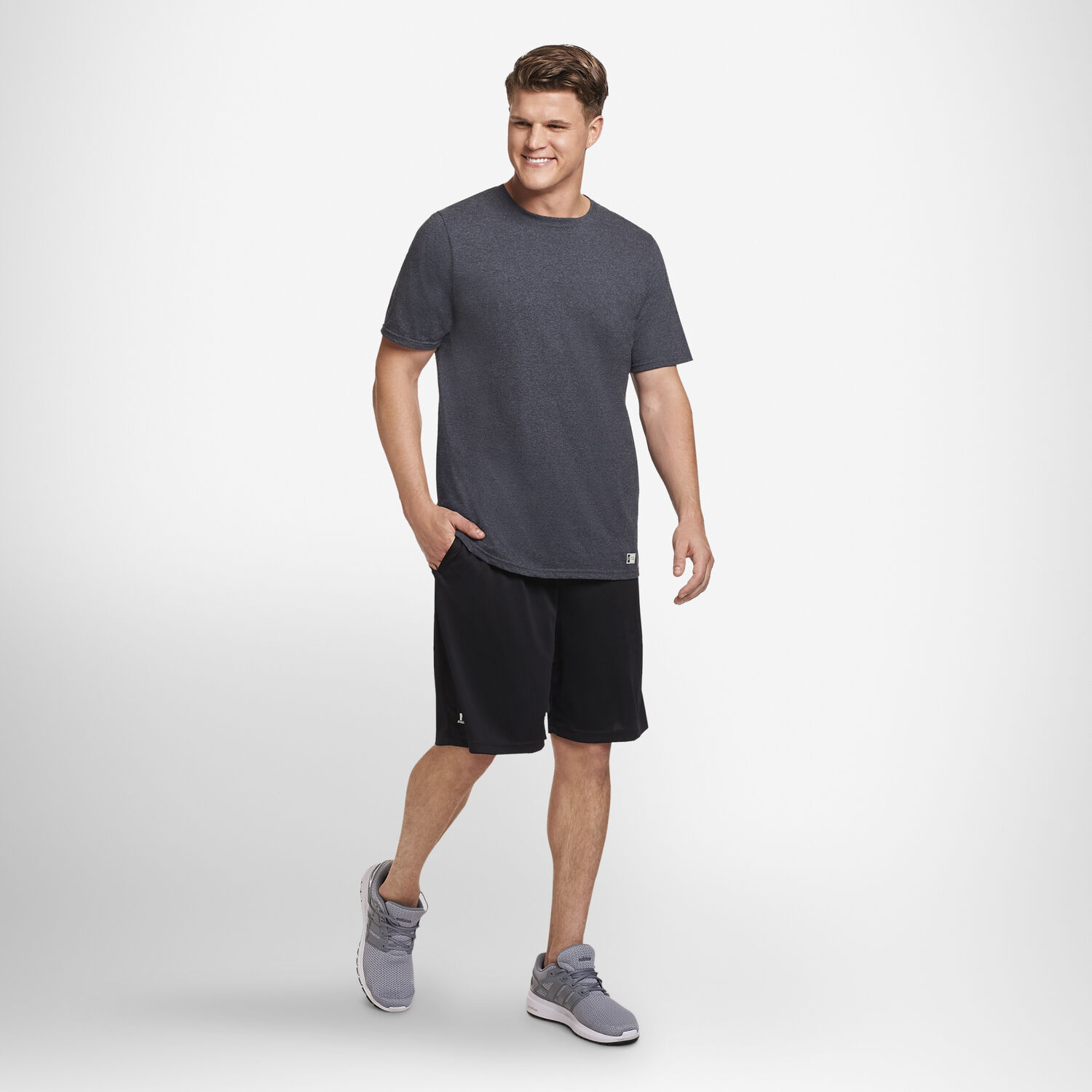 51a6680c27f7 Men's Cotton Performance Tee - Russell US | Russell Athletic
