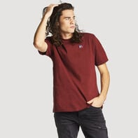 Men's Heritage Heavyweight Baseliner T-Shirt BURGUNDY