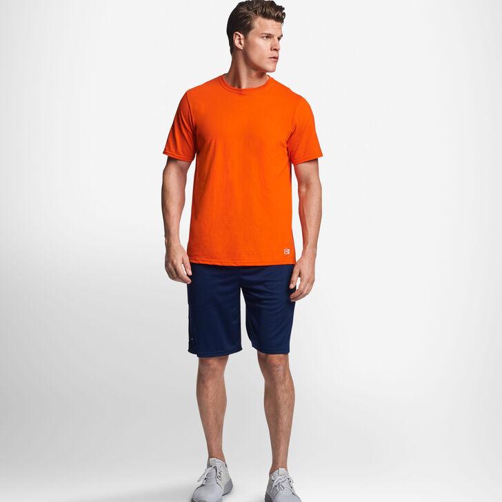 Men's Cotton Performance T-Shirt BURNT ORANGE