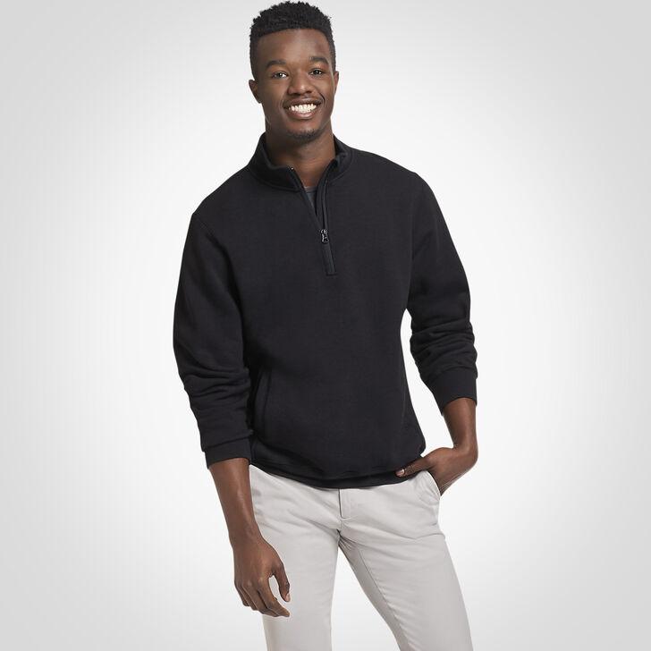 Men's Dri-Power® Fleece 1/4 Zip Pullover BLACK
