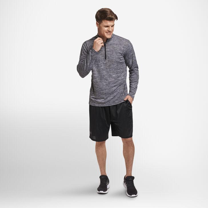 Men's Dri-Power® Lightweight Performance 1/4 Zip BLACK