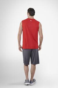Men's Dri-Power® Performance Mesh Sleeveless Muscle True Red