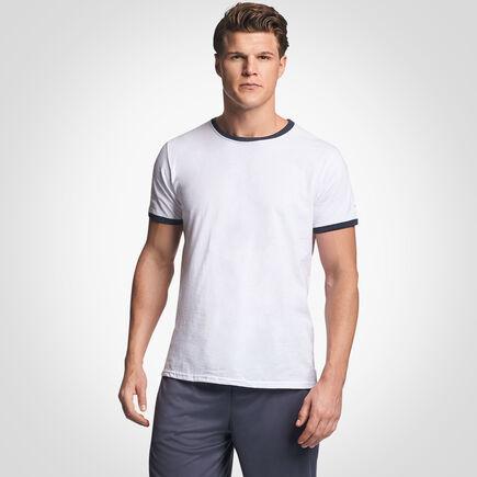Men's Cotton Performance Ringer T-Shirt
