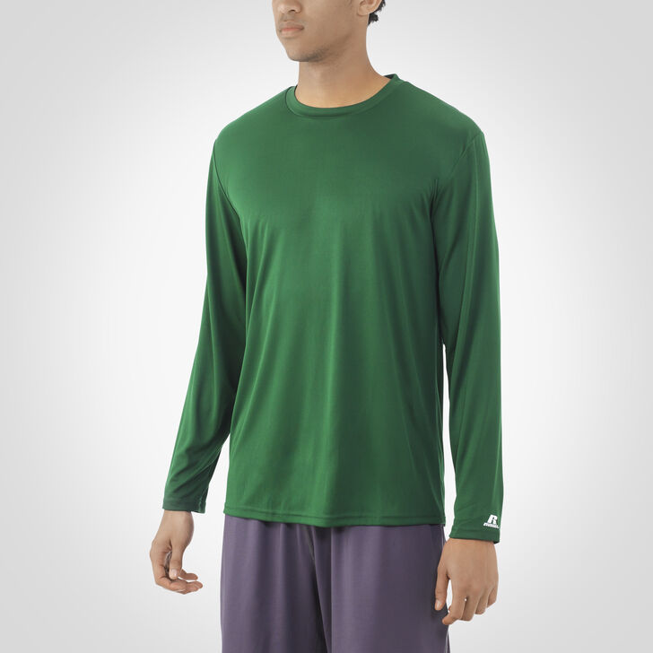 Men's Dri-Power® Core Performance Long Sleeve Tee DARK GREEN