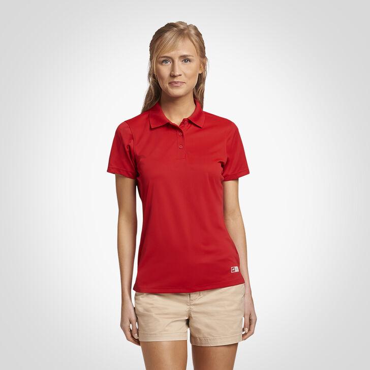 Women's Dri-Power® Performance Golf Polo TRUE RED