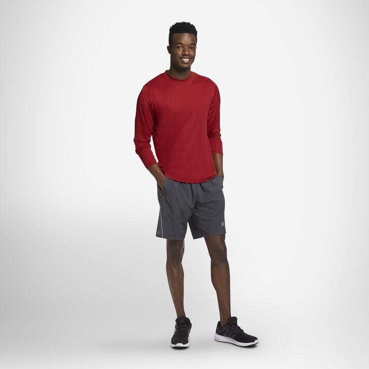 Men's Dri-Power® Performance Long Sleeve T-Shirt CARDINAL