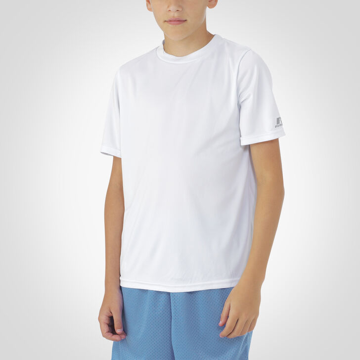 Youth Dri-Power® Core Performance Tee WHITE