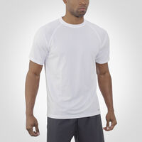 Men's Dri-Power® Mesh Short Sleeve Tee WHITE