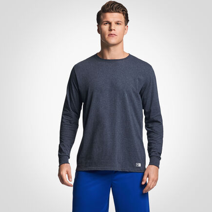 Men's Cotton Performance Long Sleeve T-Shirt