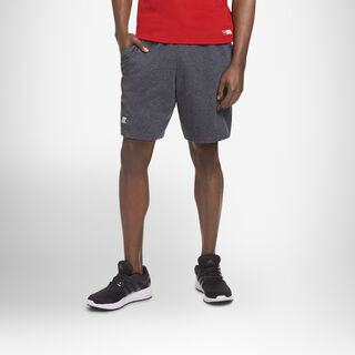 Men's Basic Jersey Cotton Shorts BLACK HEATHER