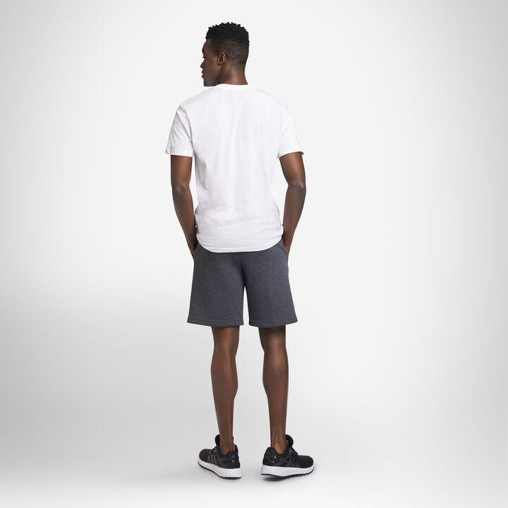 Men's Dri-Power® Fleece Shorts BLACK HEATHER