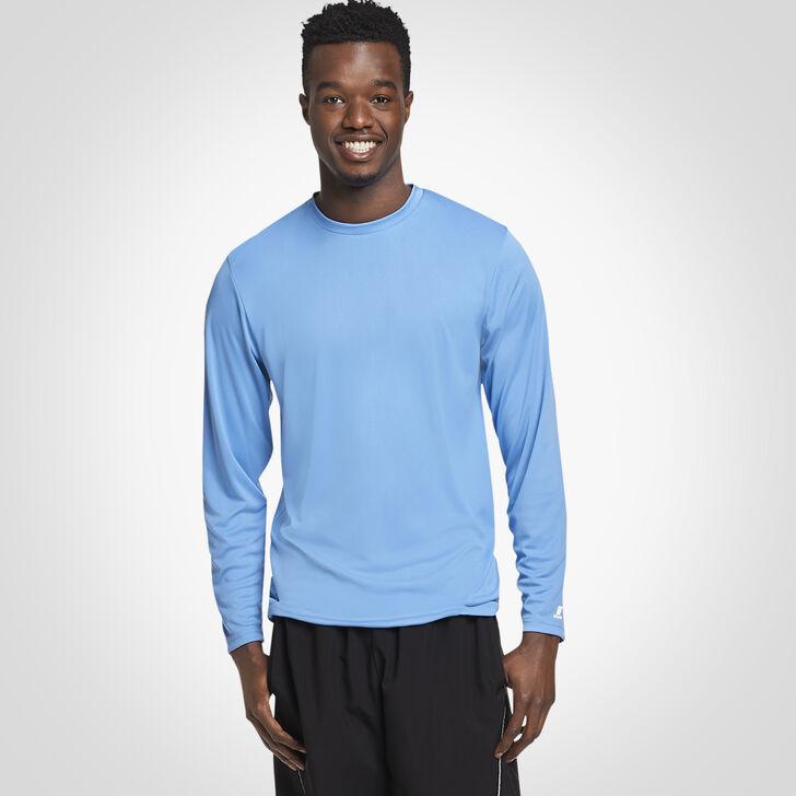 Men's Dri-Power® Core Performance Long Sleeve Tee COLUMBIA BLUE