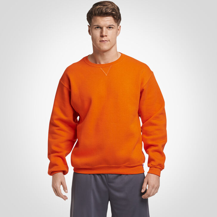 Men's Dri-Power® Fleece Crew Sweatshirt Burnt Orange
