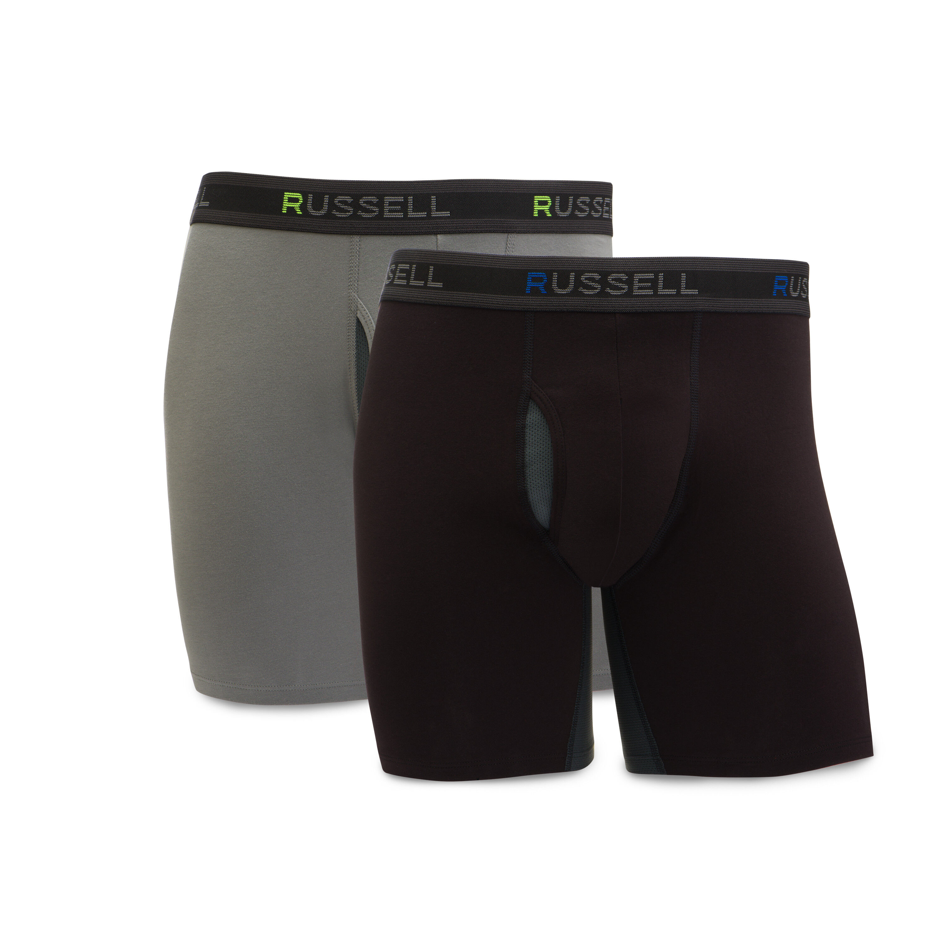 Mens Boxer Briefs Underwear Play On No Ride Up Cotton Stretch Short