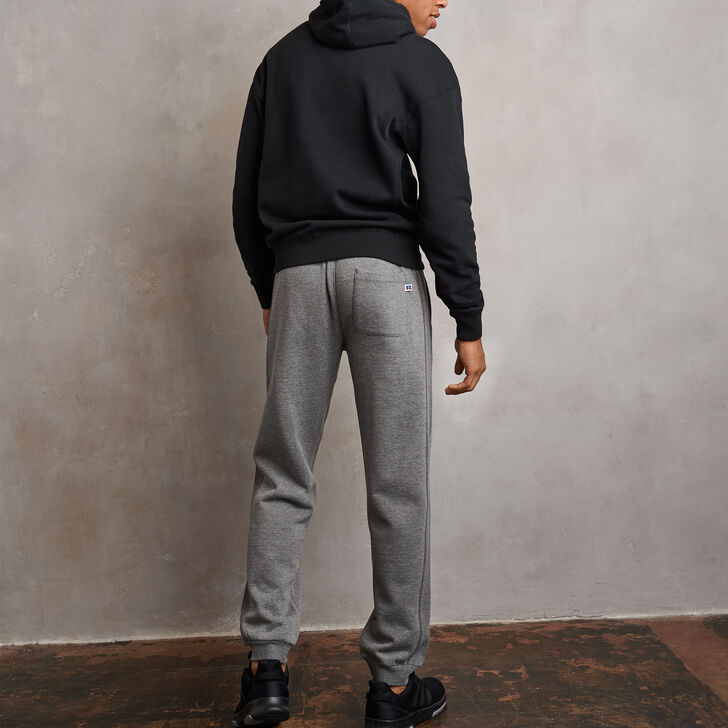 Men's Heritage Flock Fleece Jogger Grey Marl