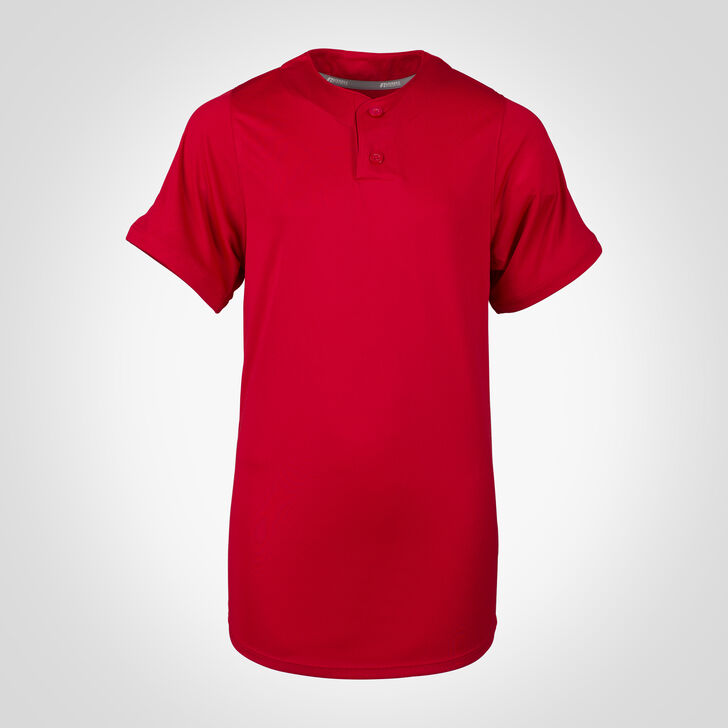 Youth Dri-Power® Solid Baseball Jersey TRUE RED