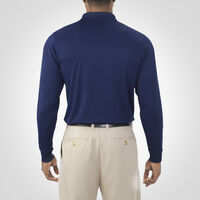 Men's Dri-Power® Performance Long Sleeve Golf Polo NAVY