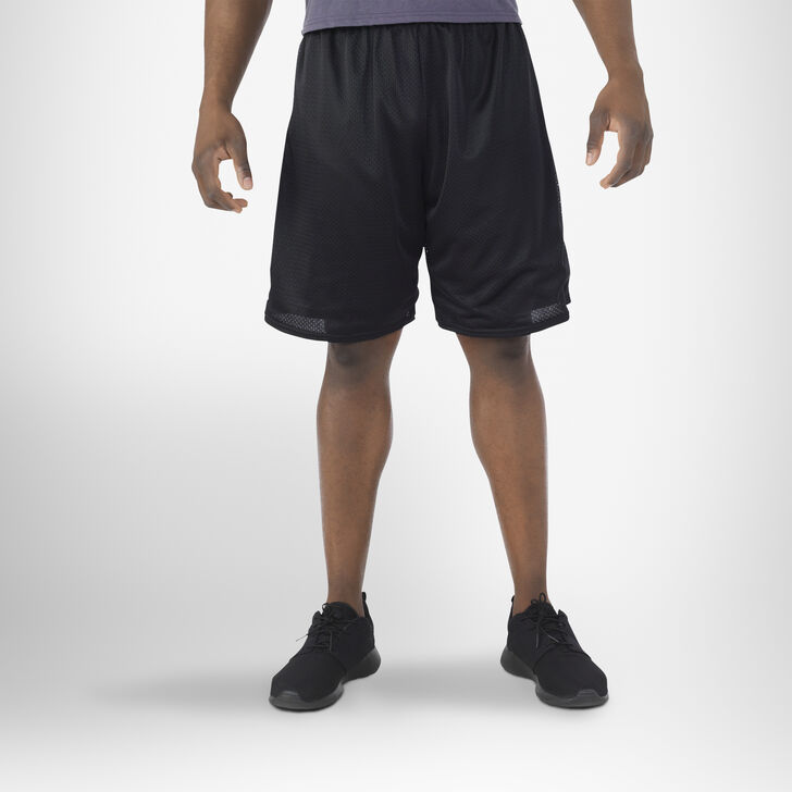 Men's Dri-Power® Mesh Shorts (No Pockets) Black
