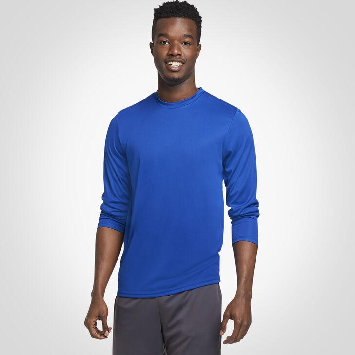 Men's Dri-Power® Performance Long Sleeve T-Shirt ROYAL