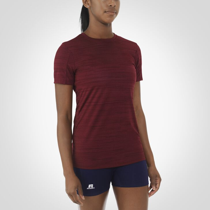 Women's Dri-Power® Fashion Performance Tee MAROON
