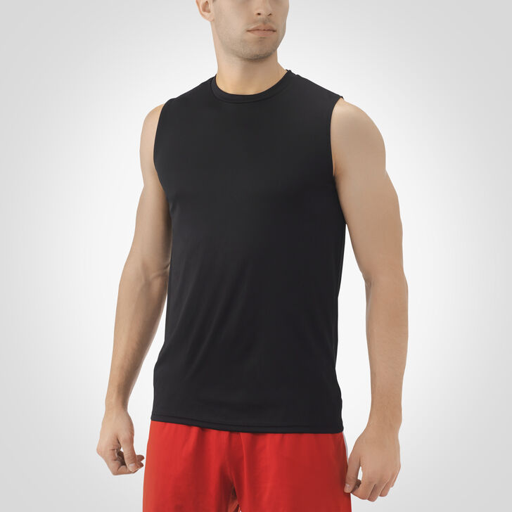 Men's Dri-Power® Core Performance Sleeveless Tee BLACK