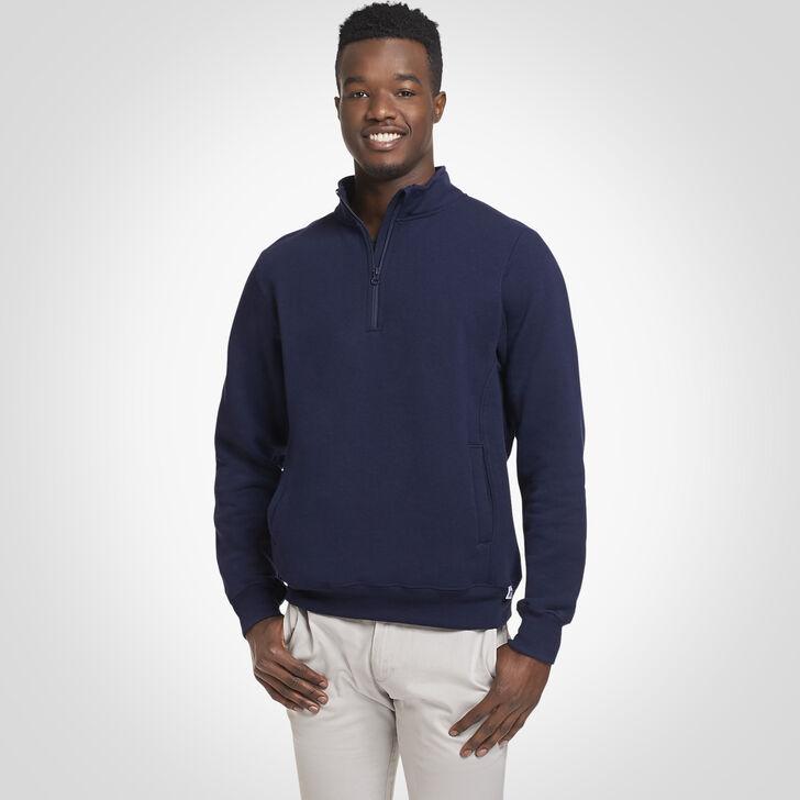 Men's Dri-Power® Fleece 1/4 Zip Pullover J.NAVY