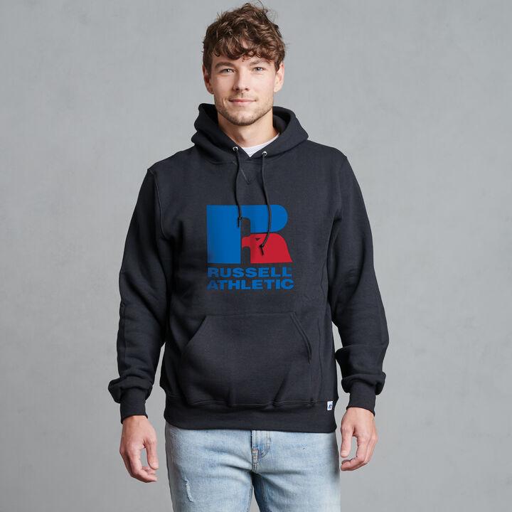 Dri-Power Fleece Logo Hoodie BLACK