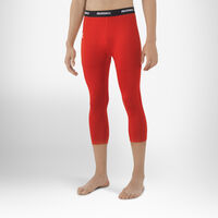 Men's Dri-Power® 3/4 Compression Tights TRUE RED