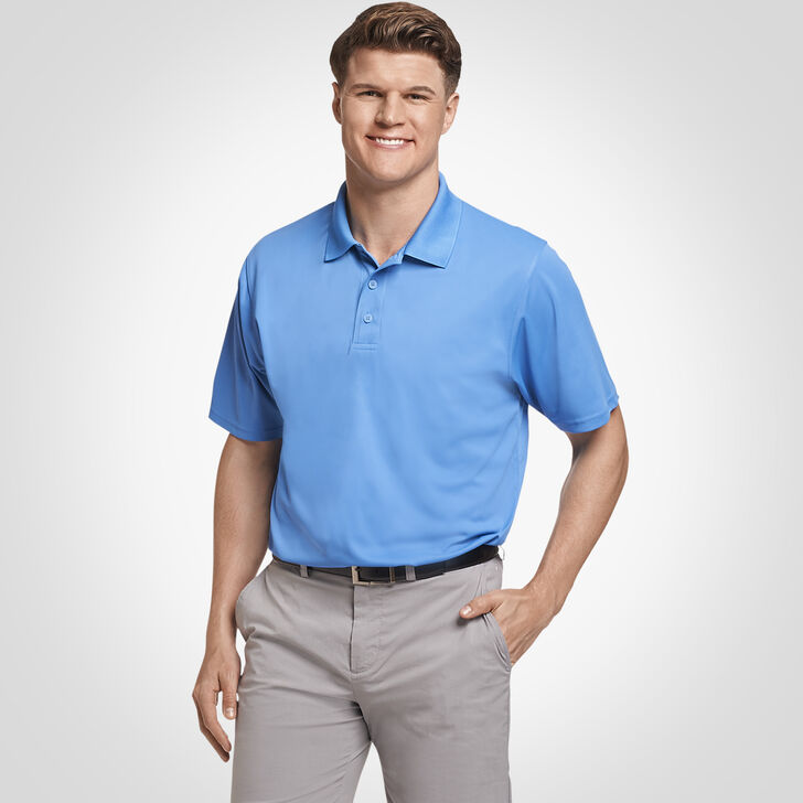 Men's Dri-Power® Performance Golf Polo COLLEGIATE BLUE